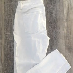 White Maurice's Jeggings